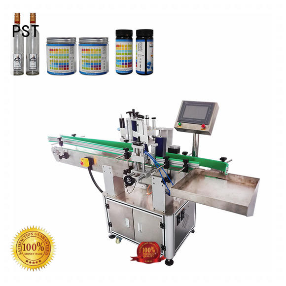 PST new labeling equipment customization for square bottles