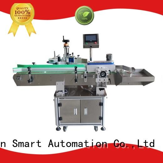 PST latest automatic bottle labeling machine with custom service for cosmetics bottles