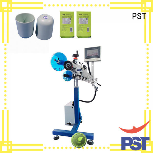 PST labeling machine factory for boxes