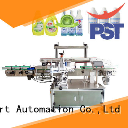 PST semi automatic labeling machine company for cards