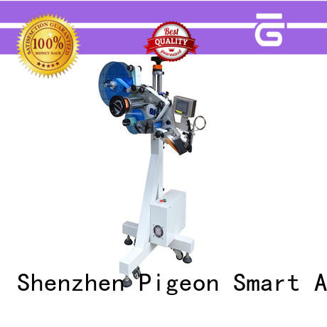 high end Flat Labeling Machine efficient for round bottles PST