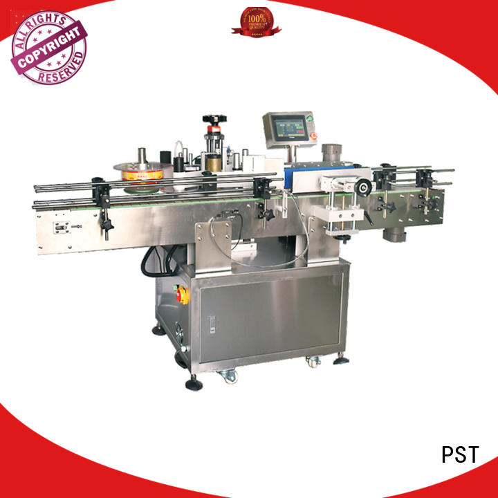fully automatic label applicator shrink labeling equipment for round bottles
