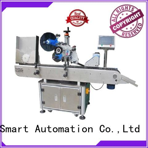 PST high speed automatic bottle labeler with custom service for cosmetics bottles