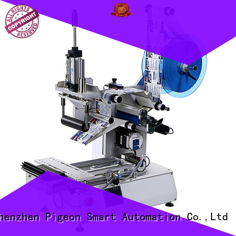 PST high end bottle labeling machine for sale supplier for flat bottles