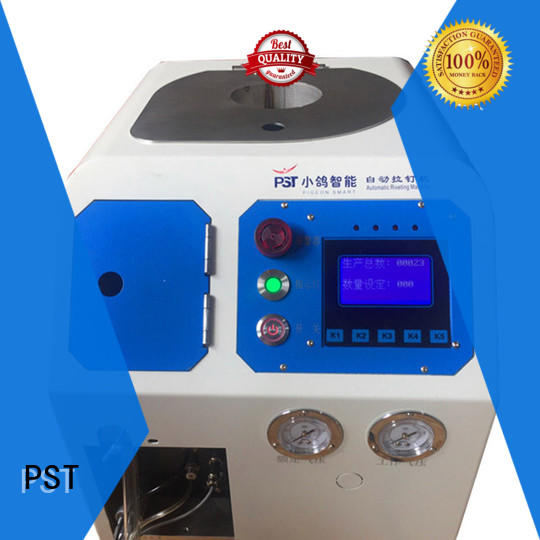 PST customized automatic feeding machine for flight case supplier for server case