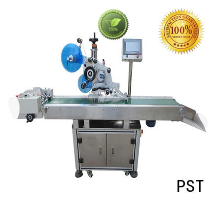 PST fully flat labeling machine company for round bottles