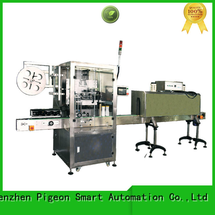 PST wrap sticker labelling machine supplier for boxes
