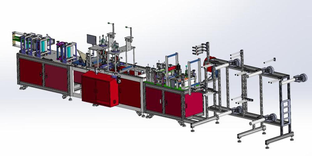 PST KN95 full automatic mask machine suppliers for face mask-1