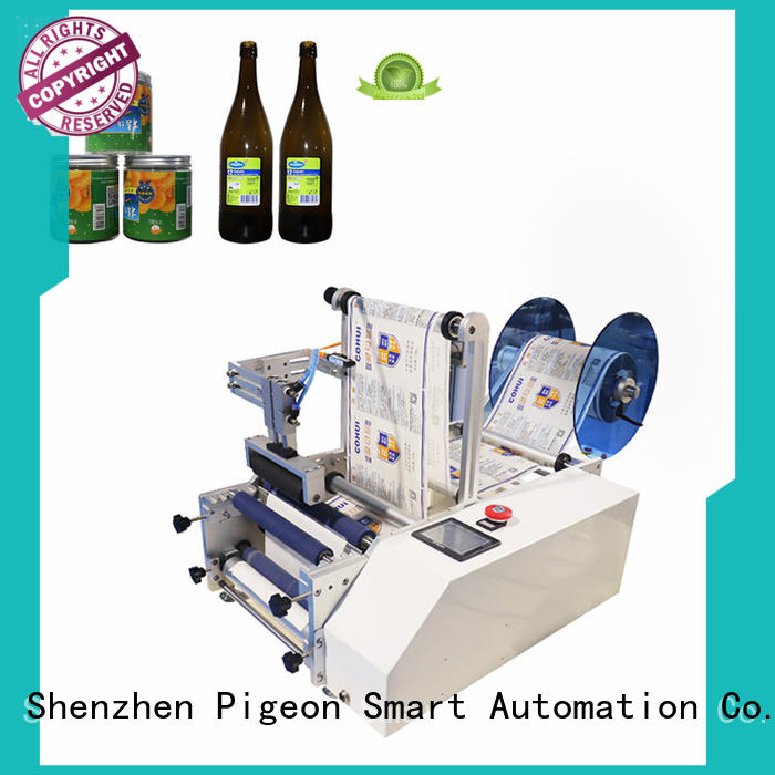 custom semi automatic bottle labeler supply for sale