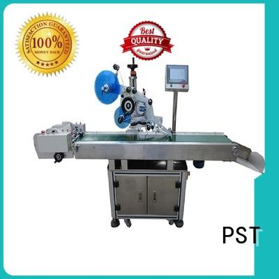 PST new automatic flat labeling machine supply for bags
