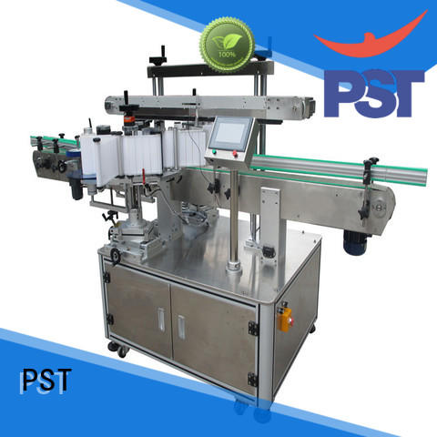 PST double sides Side labeling Machine wholesale for bucket