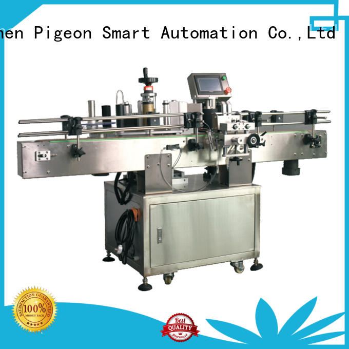 wrap auto label machine shrink labeling equipment for square bottles