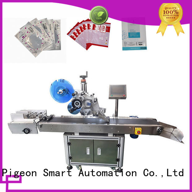 flat flat labeling machine for busniess for round bottles