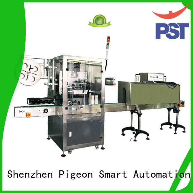 PST wrap sticker labelling machine shrink labeling equipment for cards
