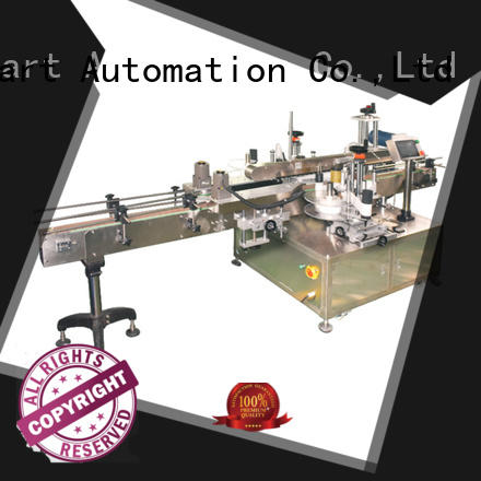 PST latest double side sticker labeling machine company for flat bottles
