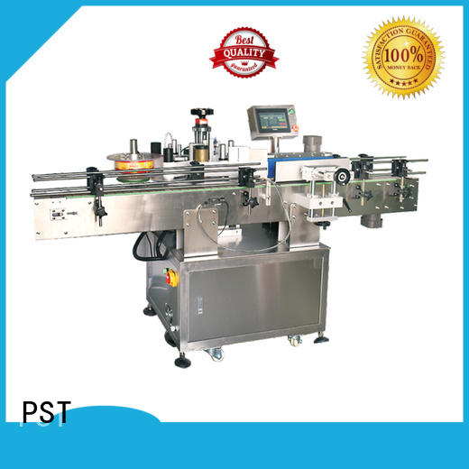 semi automatic sticker labelling machine shrink labeling equipment for square bottles