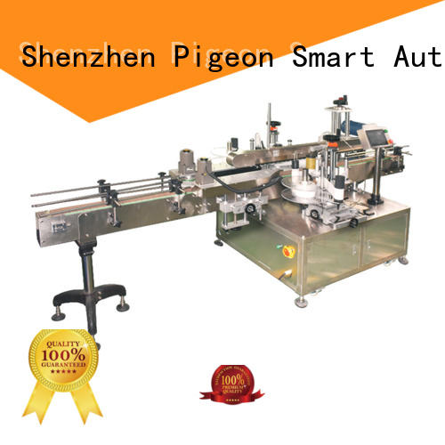 high speed double side sticker labeling machine manufacturer for square bottles