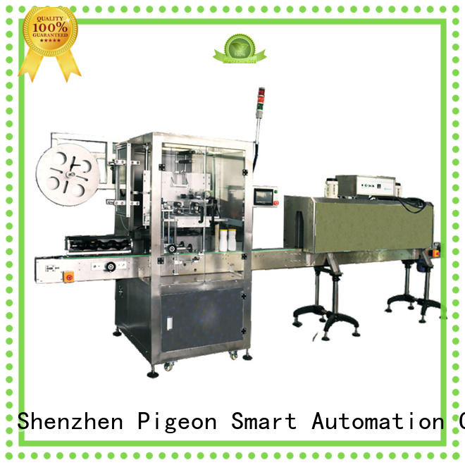 PST conveyor type auto label machine wholesale for cards
