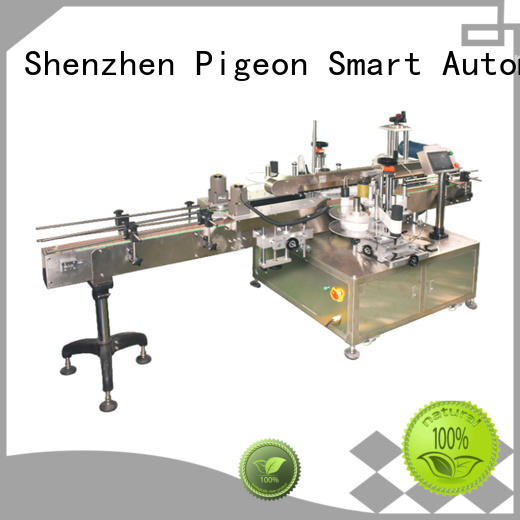 double sides Side labeling Machine manufacturer for flat bottles