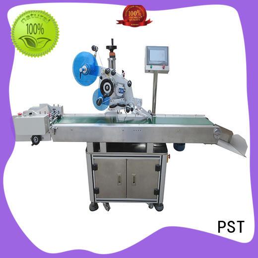 fully flat surface labeling machine manufacturer for flat bottles PST