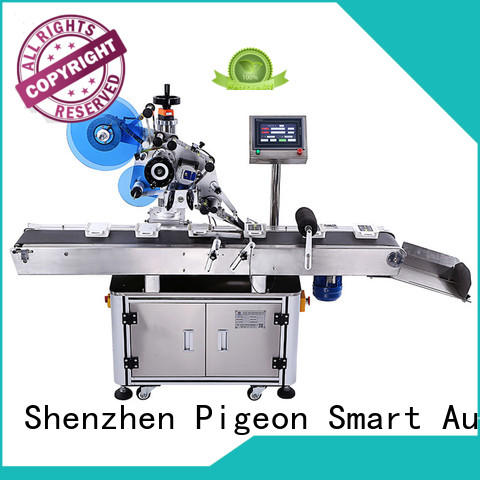PST automatic flat labeling machine company for bags