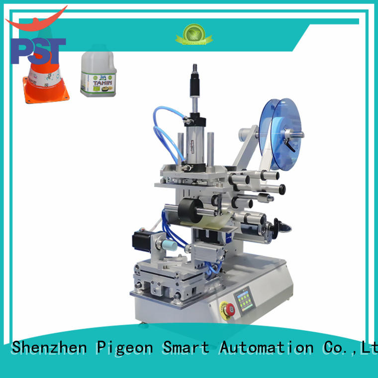 PST flat labeling machine wholesale for flat bottles