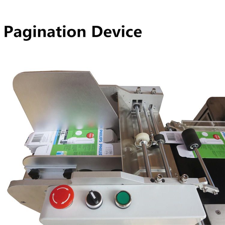 PST new automatic flat labeling machine supply for bags-1