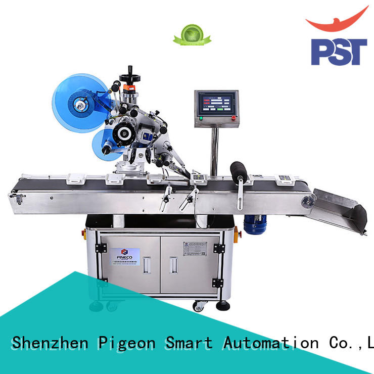 high end flat surface labeling machine hot sale for square bottles PST