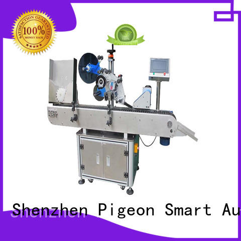 PST conveyor type automatic bottle labeling machine manufacturer for round bottles