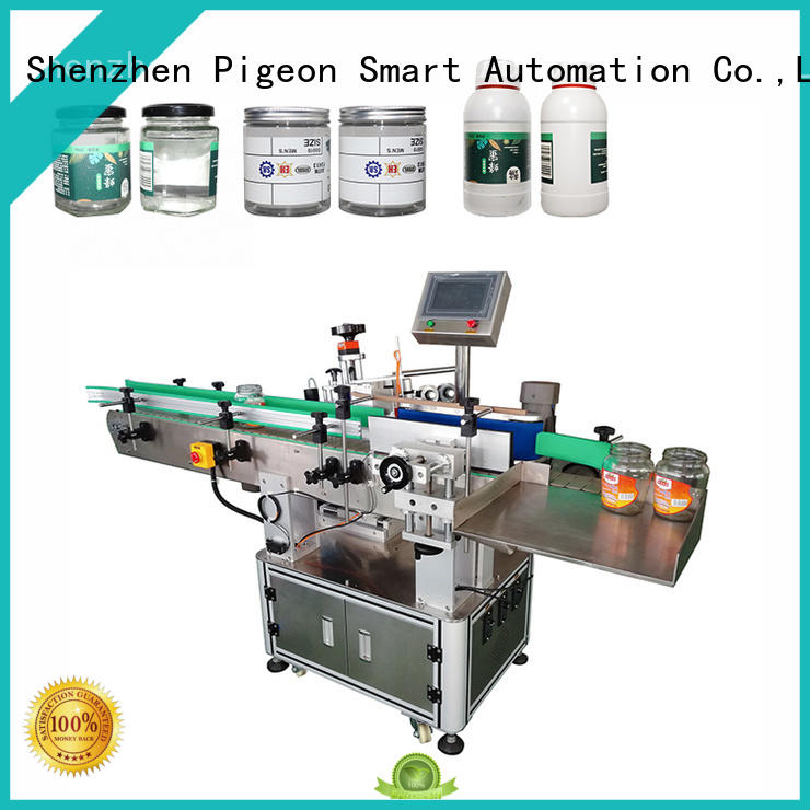 PST fully automatic bottle labeling machine manufacturer for square bottles