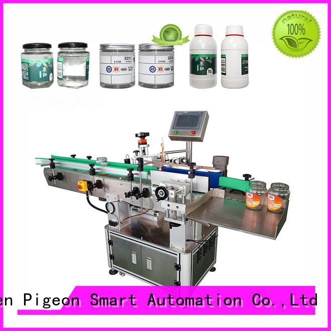 PST sticker labelling machine company for square bottles