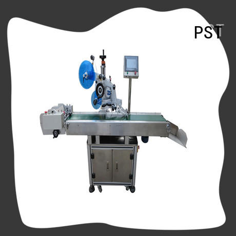 excellent flat surface labeling machine supplier for round bottles PST