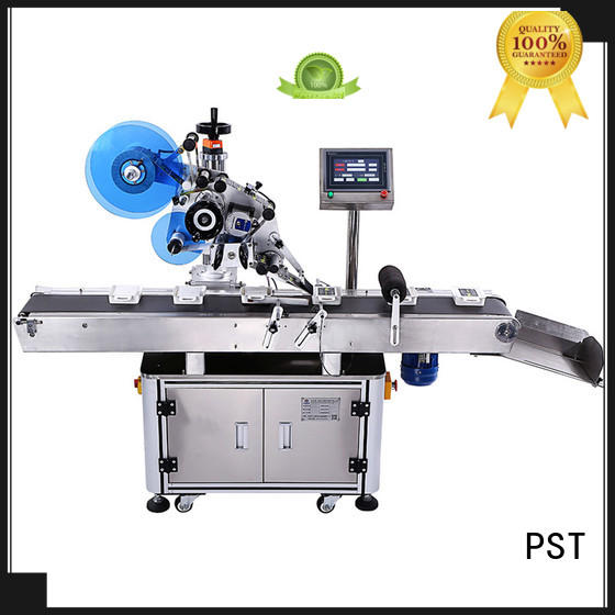 PST hot sale automatic flat labeling machine wholesale for book