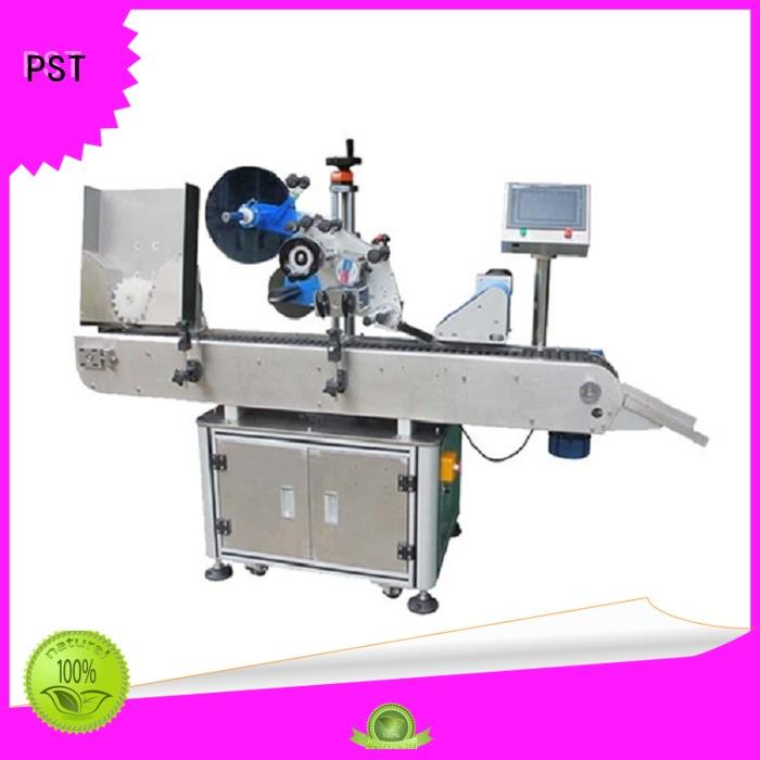 PST high quality round bottle labeler factory price for wine bottle