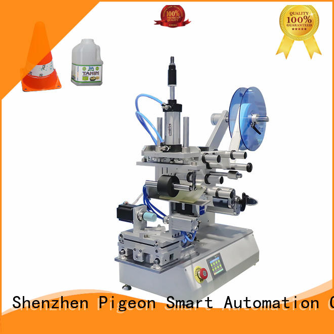 PST flat labeling machine for busniess for cards