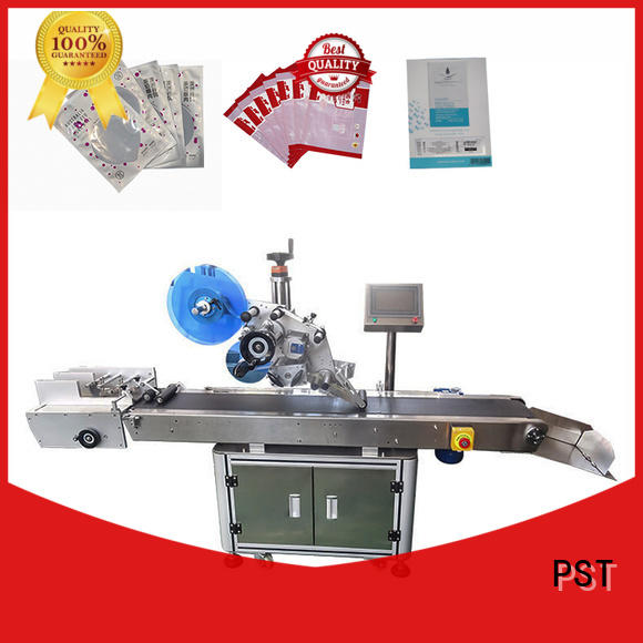 PST flat labeling machine factory for cards