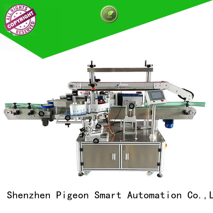 PST double side labeling machine supplier for bucket