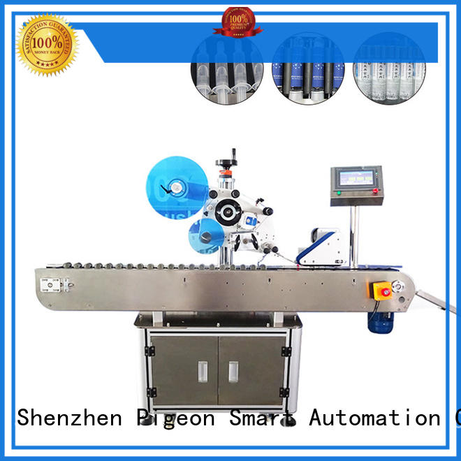 PST automatic labeling machine with label sensor for boxes