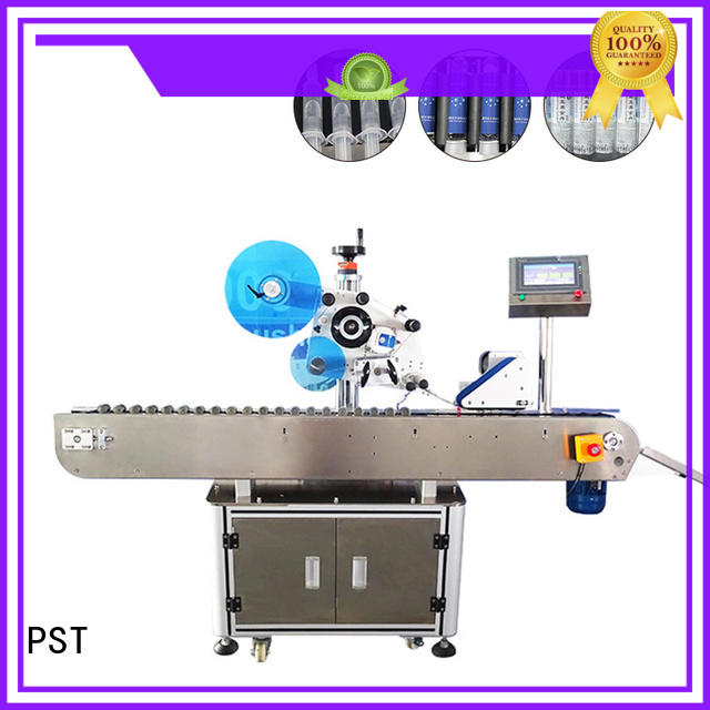 PST latest semi automatic labeling machine bucket for cards