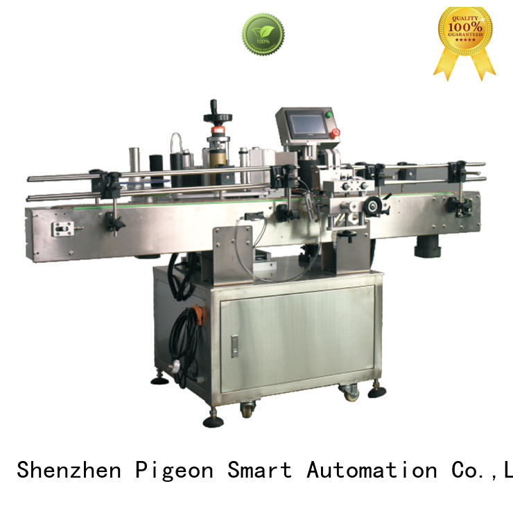 automatic bottle labeling machine wholesale for square bottles PST