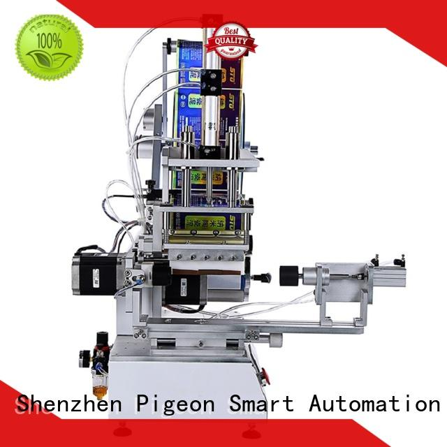 PST custom semi automatic flat labeling machine factory price for square bottles