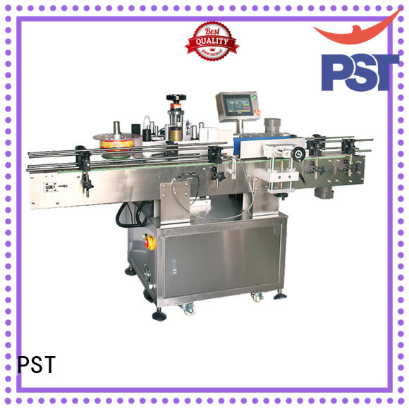 automatic bottle labeling machine for round bottles PST
