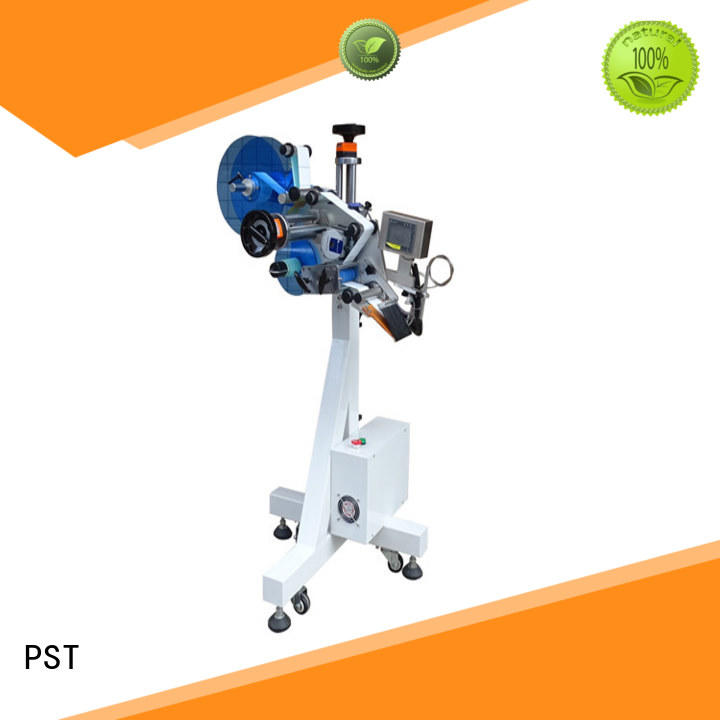 PST fully automatic labeling machine supplier for flat bottles