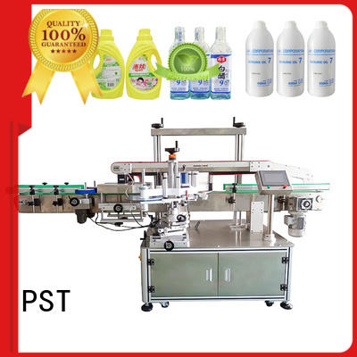 high speed automatic label applicator machine company for flat bottles
