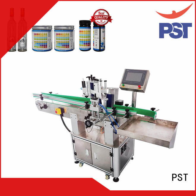 PST label applicator machines factory for square bottles