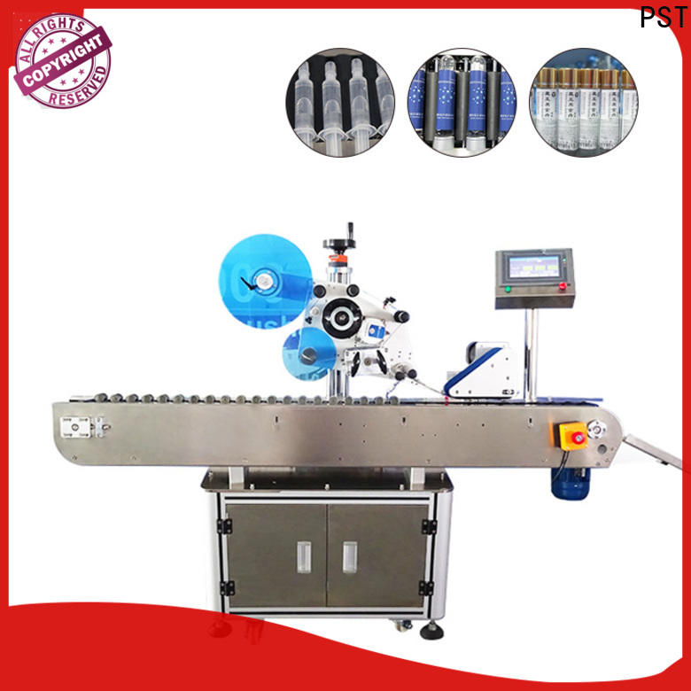 PST label machine factory for round bottles