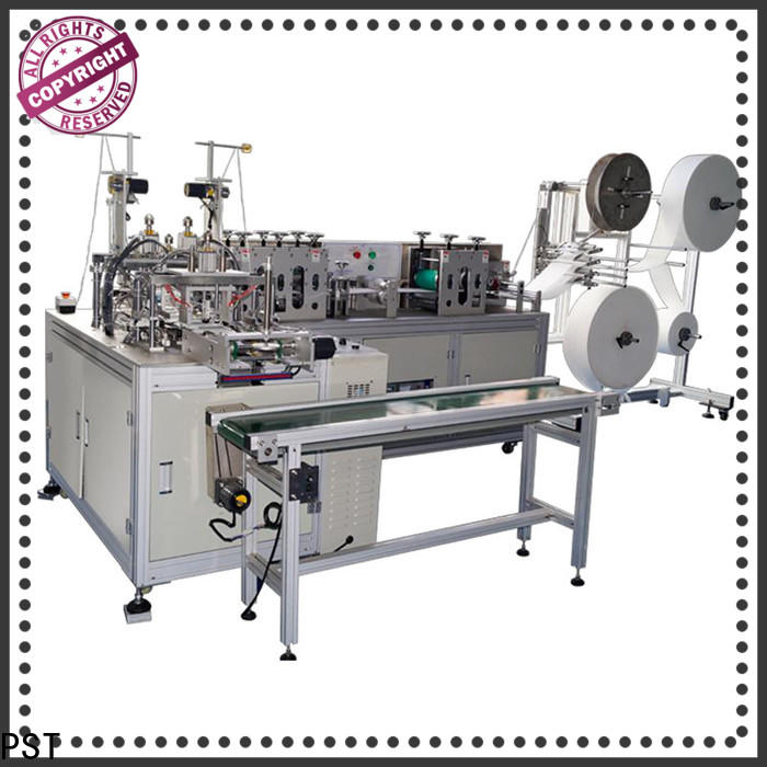 PST flat face mask machine factory for sale