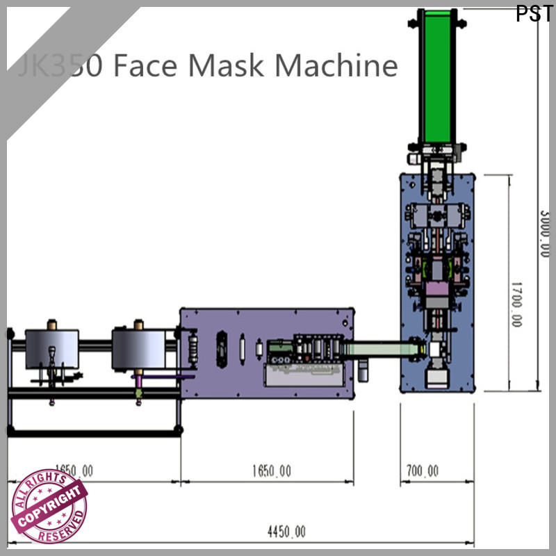 PST custom flat disposal face mask machine factory for sale
