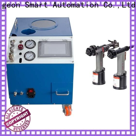 PST custom electric riveting machine supplier for flight case