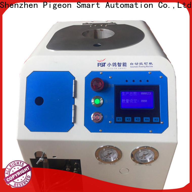 PST top automatic riveting machine for busniess for computer terminal case